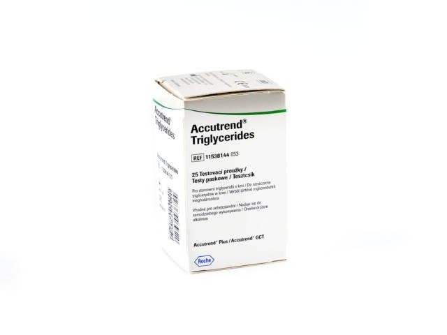Paski Roche Accutrend Trigliceride 25