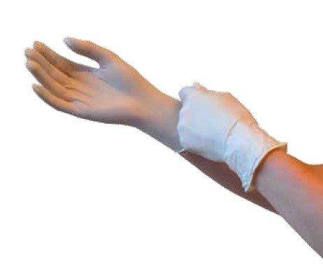 Rękawiczki nitrylowe bezpudrowe, niebieskie 100 szt.