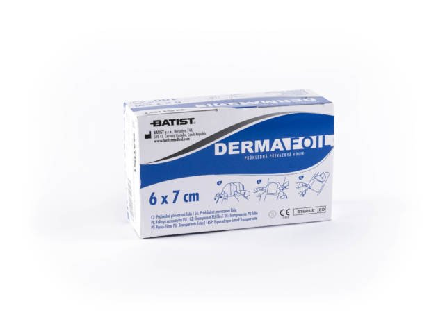 Dermafoil 6cmx7cm przylepiec op.100 szt.