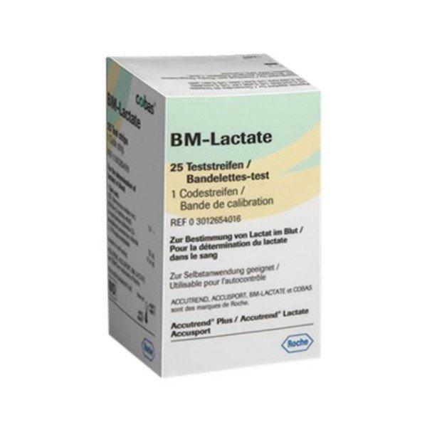 Paski Roche BM Lactate 25