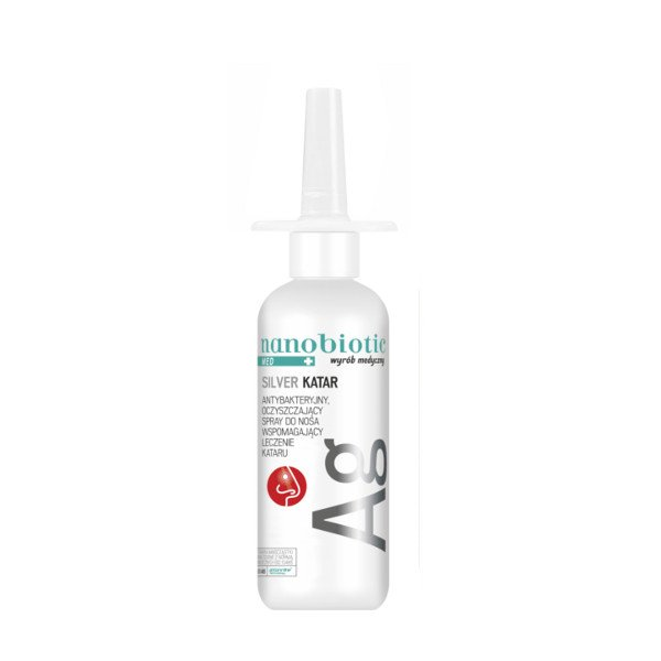 Nanobiotic MED Silver Katar Spray do nosa