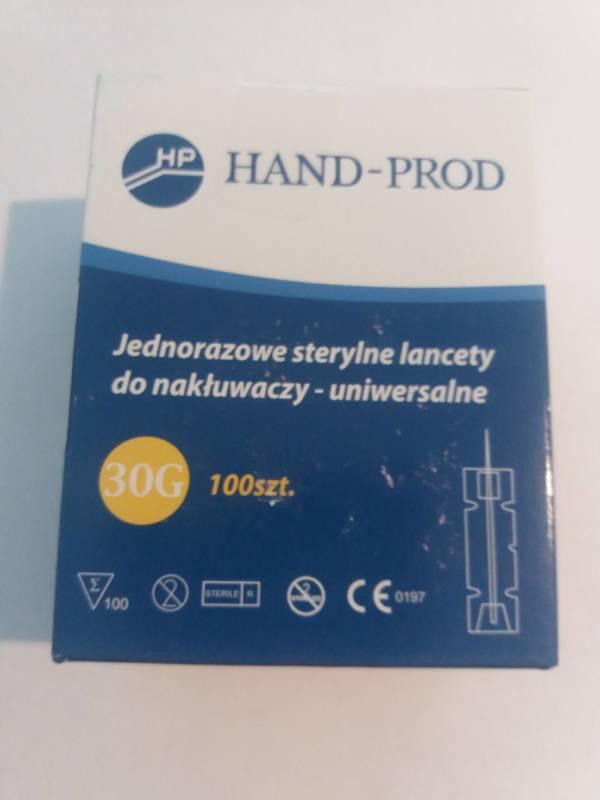Jednorazowe lancety do nakłuwaczy (100 szt.)