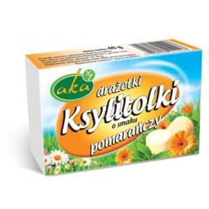 """Drażetki pomarańczowe """"Ksyllitolki"""""""