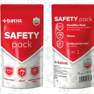 """Zestaw środków ochrony indywidualnej """"SAFETY pack"""""""