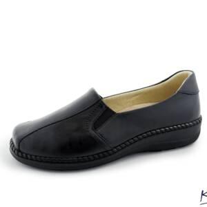 Półbuty czarne Kosela mode 9295