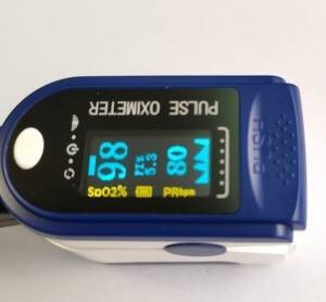 Pulsoksymetr napalcowy